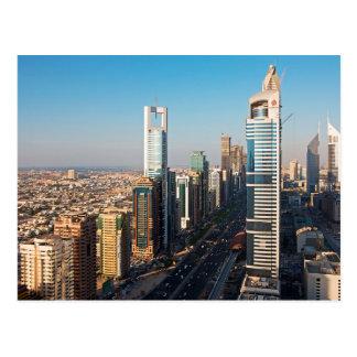 Buildings Along Sheikh Zayed Road, Dubai Postcard