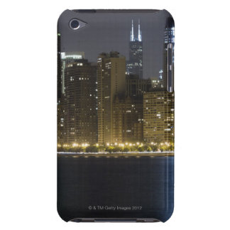 Buildings along the Chicago lakefront at night, iPod Case-Mate Case