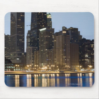 Buildings along the downtown Chicago lakefront Mouse Pad