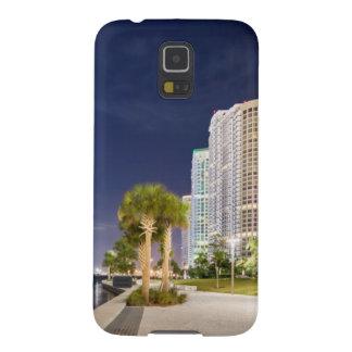 Buildings along the Miami River Riverwalk Galaxy S5 Case