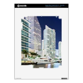 Buildings along the Miami River Riverwalk iPad 3 Decals
