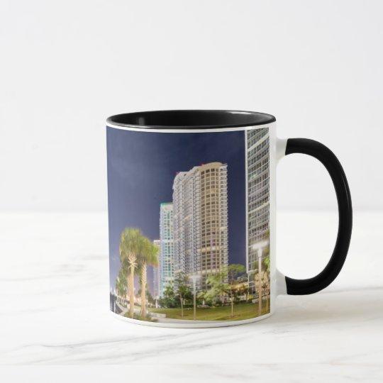 Buildings along the Miami River Riverwalk Mug