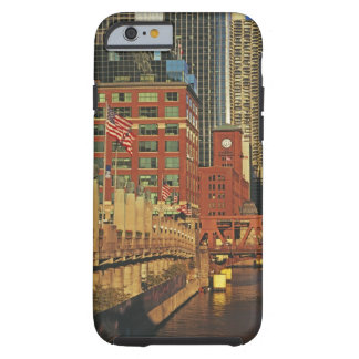 Buildings along the river in downtown Chicago, Tough iPhone 6 Case