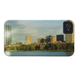 Buildings at sunset, John Hancock Tower, Boston, iPhone 4 Cover