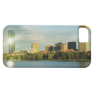 Buildings at sunset, John Hancock Tower, Boston, iPhone SE/5/5s Case