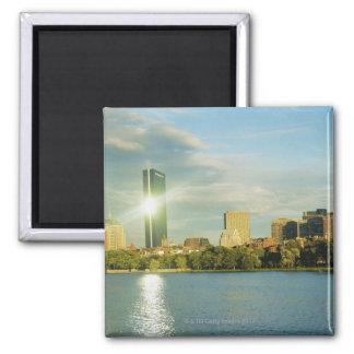 Buildings at sunset, John Hancock Tower, Boston, Magnet