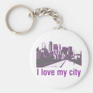 Buildings! I love my City design! Keychain
