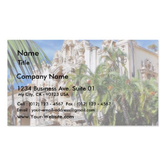 Buildings In Balboa Park Business Card