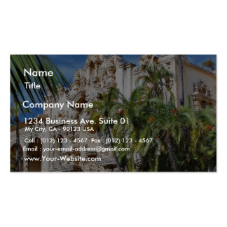 Buildings In Balboa Park Business Card Templates