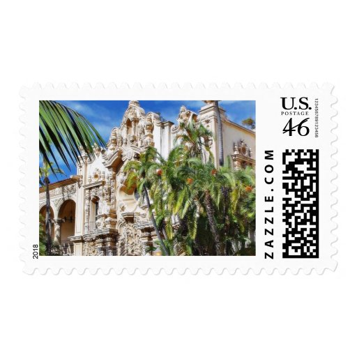 Buildings In Balboa Park Stamp