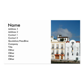 Buildings in Ponta Delgada Business Card
