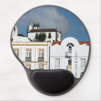 Buildings in Ponta Delgada Gel Mouse Pad