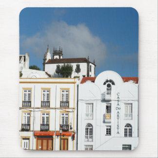 Buildings in Ponta Delgada Mouse Pad