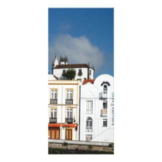 Buildings in Ponta Delgada Personalized Rack Card