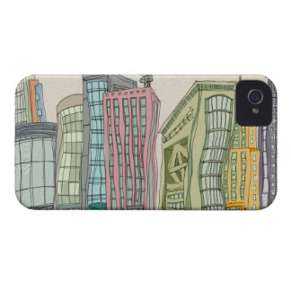Buildings iPhone 4 Cover