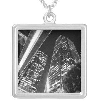 Buildings Personalized Necklace