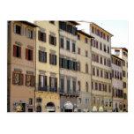 Buildings Of Florance Postcard