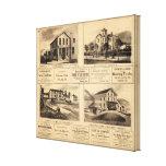 Buildings, Oil City, Franklin, Tarr Farm Canvas Print