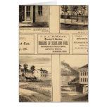 Buildings, Oil City, Franklin, Tarr Farm Card