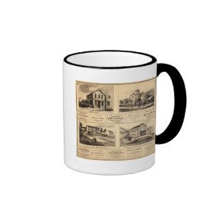 Buildings, Oil City, Franklin, Tarr Farm Mugs
