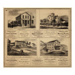 Buildings, Oil City, Franklin, Tarr Farm Poster