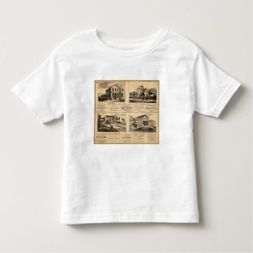 Buildings, Oil City, Franklin, Tarr Farm Toddler T-shirt