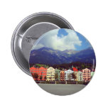 Buildings on a River Pinback Button