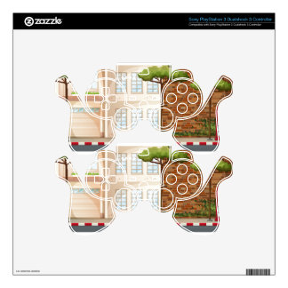 Buildings PS3 Controller Skin