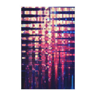 Buildings Stretched Canvas Print