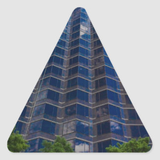 buildings triangle sticker