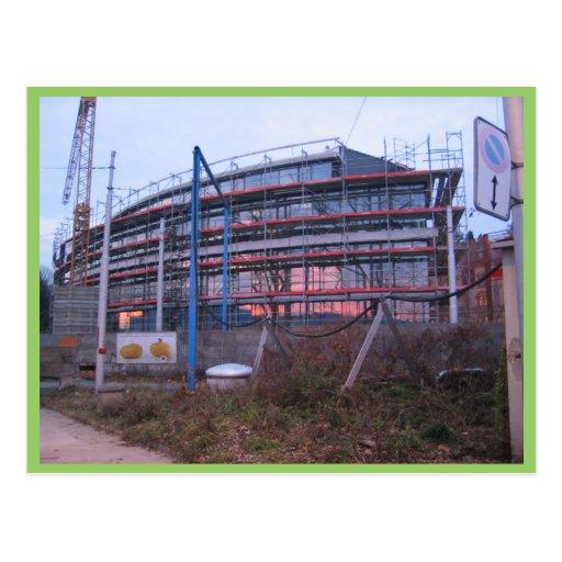 Buildings Under Construction Postcards