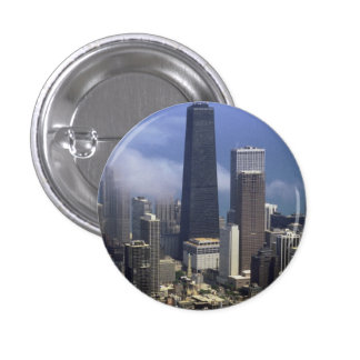 Buildings, view from top of Sears Tower, Chicago, Buttons