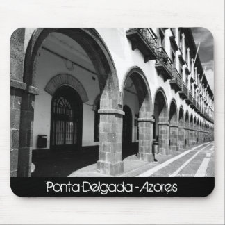 Buildings with arches mouse pad