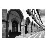 Buildings with arches photographic print