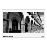 Buildings with arches room decals