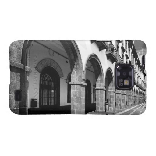 Buildings with arches samsung galaxy SII cover