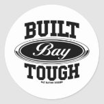 Built Bay Tough Classic Round Sticker