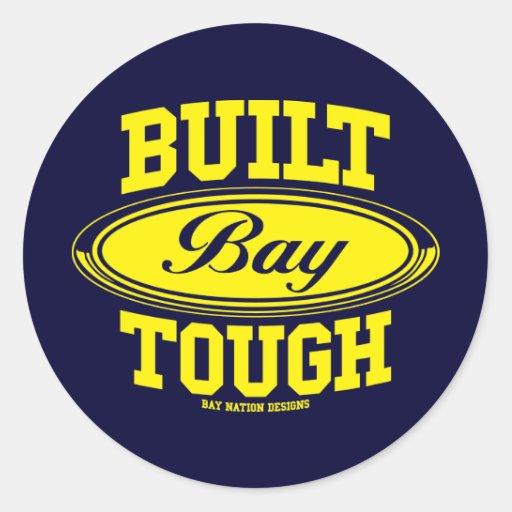 Built Bay Tough Sticker