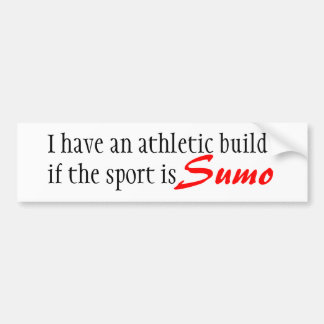 Built for Sumo bumper sticker