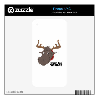 Built For Winter iPhone 4S Skins