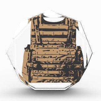 Built in Body Armour Acrylic Award