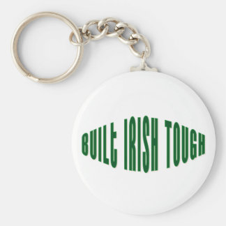 Built Irish Tough Keychain