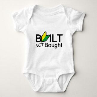 Built, not bought baby bodysuit