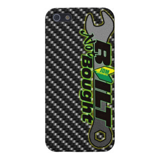 built not bought jdm car shirt tuner import racing iPhone SE/5/5s cover