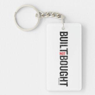 Built Not Bought Logo Keychain