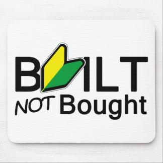 Built, not bought mousepads