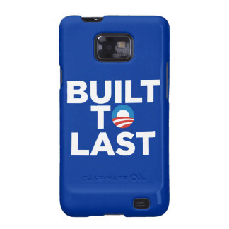 Built to Last-President Barack Obama Case Mate Samsung Galaxy SII Cases