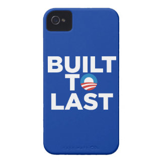 Built to Last - President Barack Obama Case-Mate iPhone 4 Case-Mate Cases