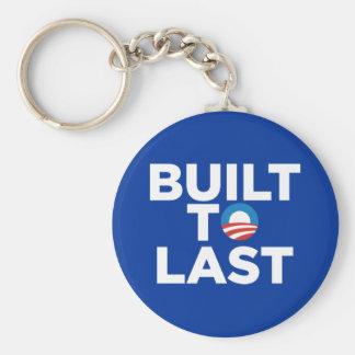 Built to Last - President Barack Obama Keychain