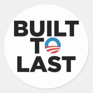 Built to Last - President Barack Obama Sticker
